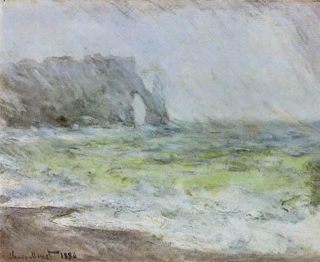 Claude Oscar Monet - Coast Etretat