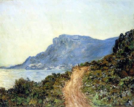 Claude Oscar Monet - Kap Martin, Menton