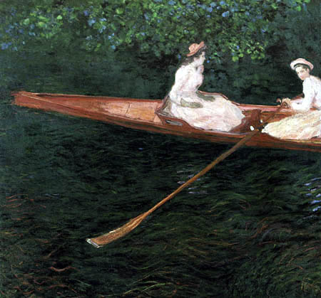 Claude Oscar Monet - Boat trip on the Epte