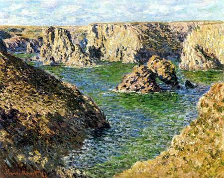 Claude Oscar Monet - Port Donnant, Belle-Île