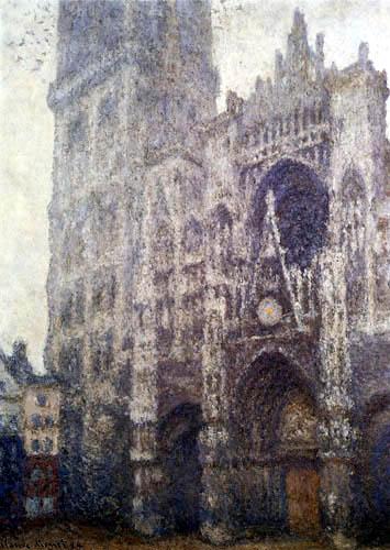 Claude Oscar Monet - Cathedral of Rouen