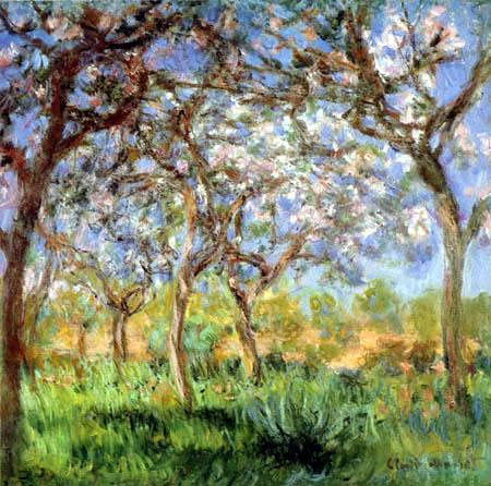 Claude Oscar Monet - Spring