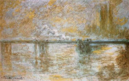 Claude Oscar Monet - Charing Cross Bridge