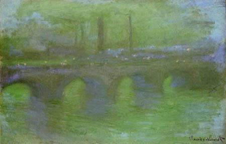 Claude Oscar Monet - Waterloo Bridge