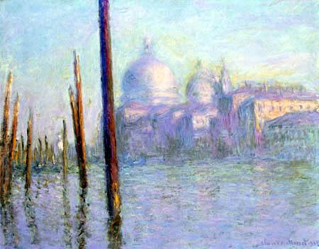 Claude Oscar Monet - Grand Canal, Venedig