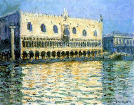 Claude Oscar Monet - Palace of the Doge, Venice