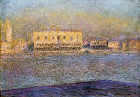 Claude Oscar Monet - Palais du doge, Venise