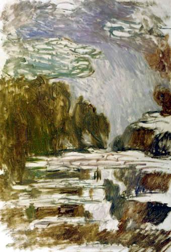 Claude Oscar Monet - Seerosen, Studie