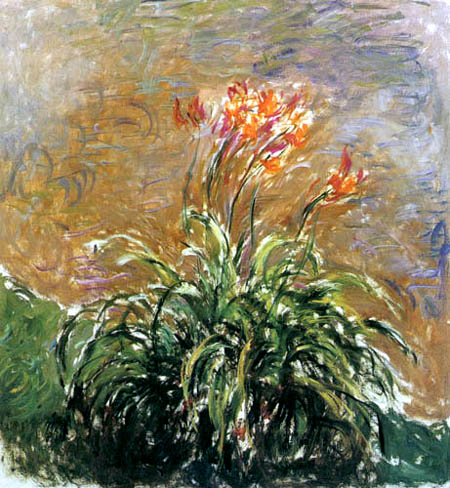 Claude Oscar Monet - Lilien