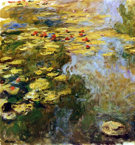 Claude Oscar Monet - Wasserlilien
