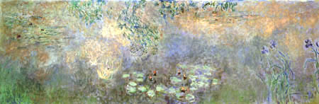 Claude Oscar Monet - Seerosen mit Iris