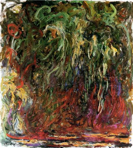 Claude Oscar Monet - Trauerweide