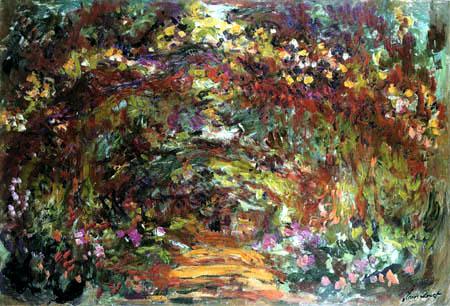 Claude Oscar Monet - Rosenweg