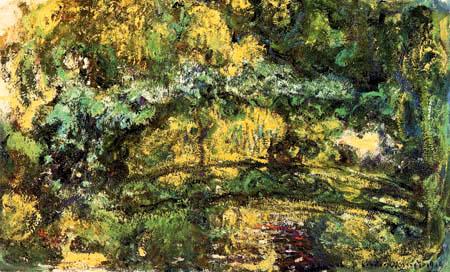 Claude Oscar Monet - Pont japonais, Giverny