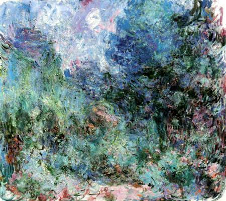 Claude Oscar Monet - Haus umgeben von Rosen