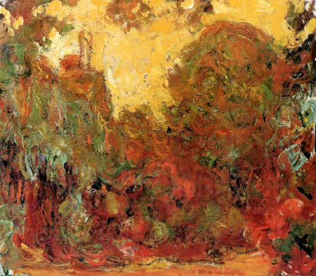 Claude Oscar Monet - A house with roses