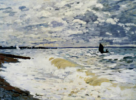 Claude Oscar Monet - The sea near Le Havre