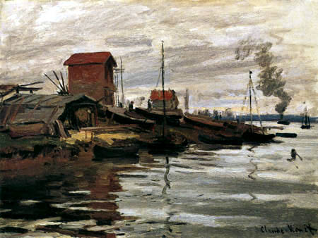 Claude Oscar Monet - The Seine near Petit-Gennevilliers