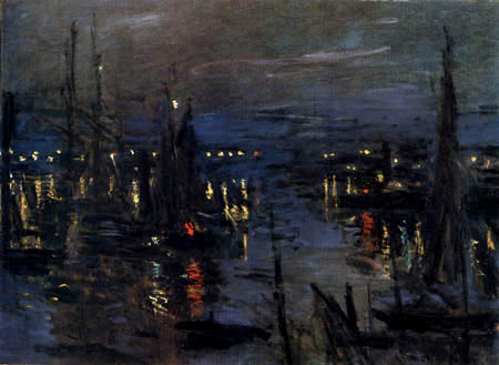 Claude Oscar Monet - Havre de Le Havre