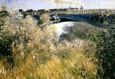 Claude Oscar Monet - The bridge of Chatou