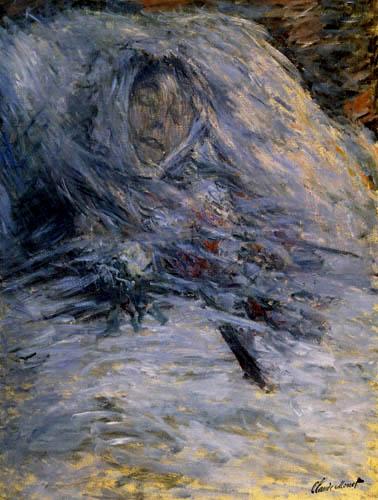 Claude Oscar Monet - Camille one´s deathbed