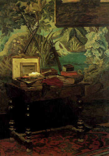 Claude Oscar Monet - Studio still - life