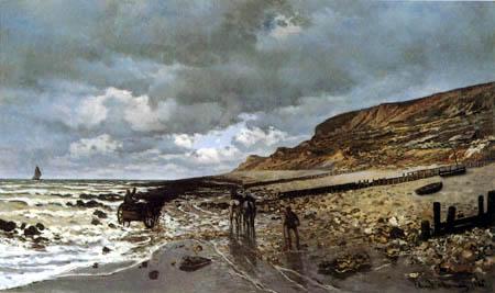 Claude Oscar Monet - Kap La Hève