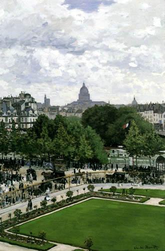 Claude Oscar Monet - Jardin de prince