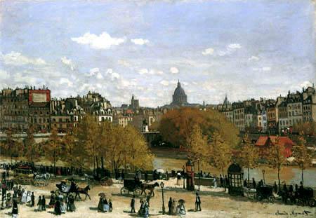 Claude Oscar Monet - Quai du Louvre