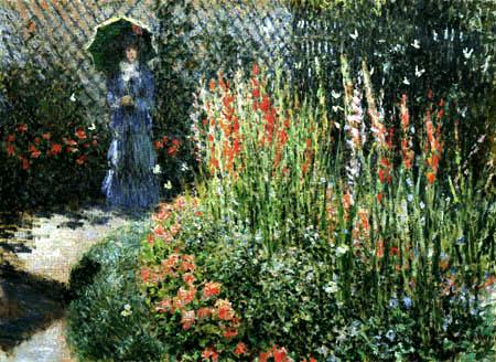 Claude Oscar Monet - Gladiolos
