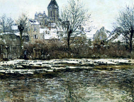 Claude Oscar Monet - Church at Vetheuil