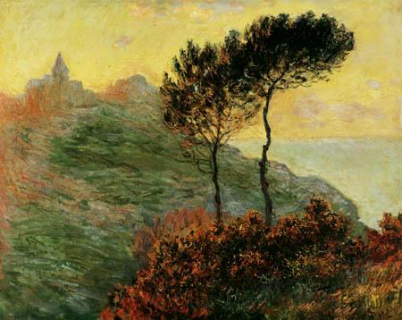 Claude Oscar Monet - Church at Varengeville