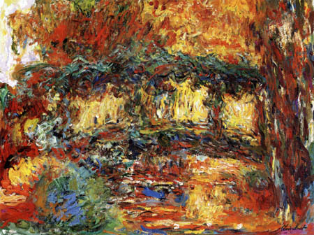 Claude Oscar Monet - The Japanese bridge