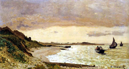 Claude Oscar Monet - The coast near Havre