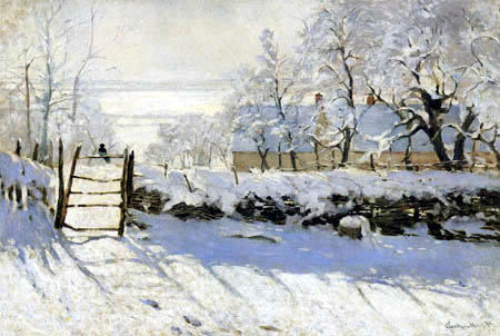Claude Oscar Monet - The magpie