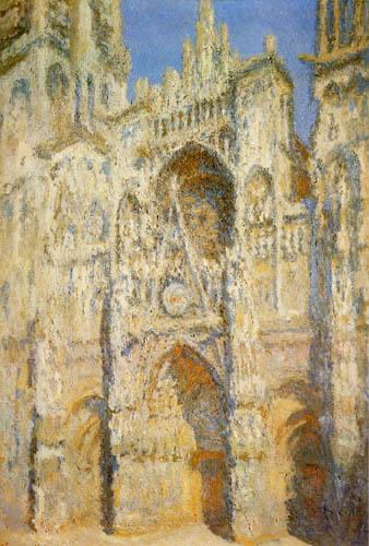 Claude Oscar Monet - Die Kathedrale von Rouen, Westportal