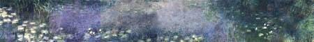 Claude Oscar Monet - Seerosen, morgens -  Grossformat