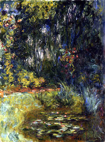 Claude Oscar Monet - Am Rande des Seerosenteiches
