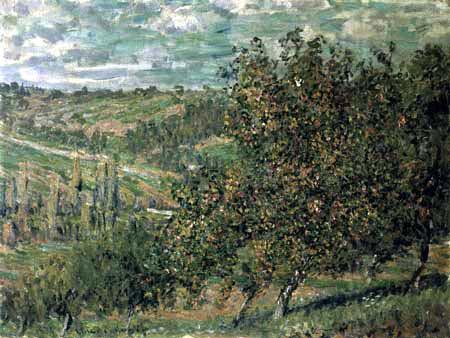 Claude Oscar Monet - Apfelbäume