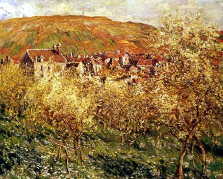 Claude Oscar Monet - Apfelbäume in Blossom