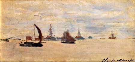 Claude Oscar Monet - Blick auf Voorzaan