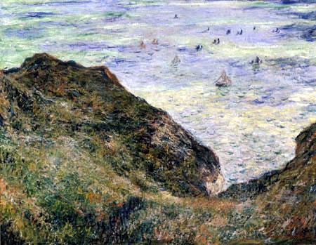 Claude Oscar Monet - Blick über das Meer