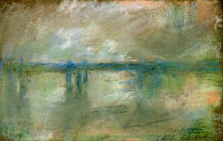 Claude Oscar Monet - Charing Cross Bridge, London