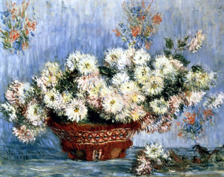 Claude Oscar Monet - Chrysanthemen