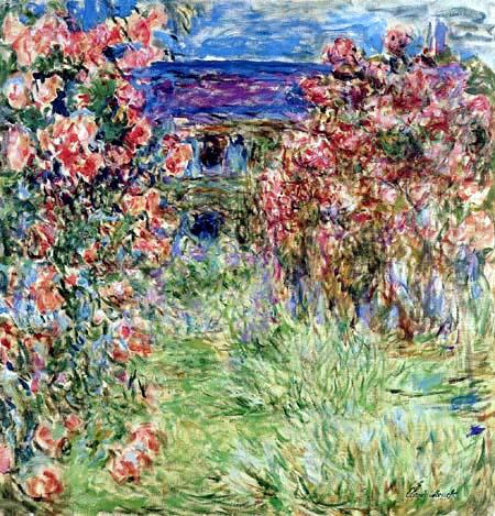 Claude Oscar Monet - Das Haus in den Rosen