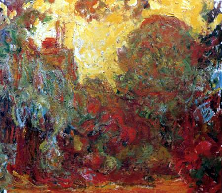 Claude Oscar Monet - Das Haus im Rosengarten