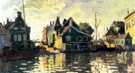 Claude Oscar Monet - Zaandam
