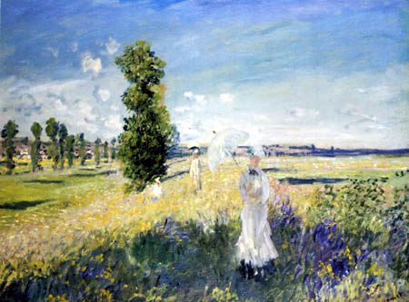 Claude Oscar Monet - The Walk