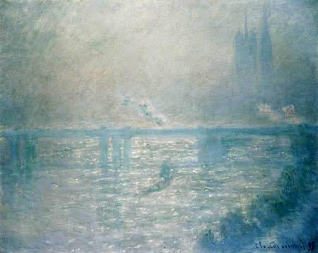 Claude Oscar Monet - Die Charing-Cross-Brücke, London