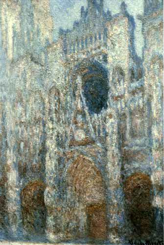 Claude Oscar Monet - La Cathedrale de Rouen, effet de soleil